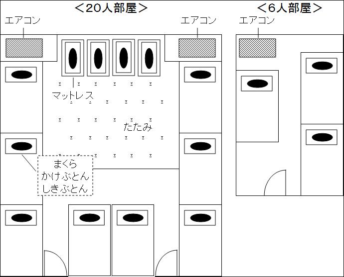宿泊室(詳細図)